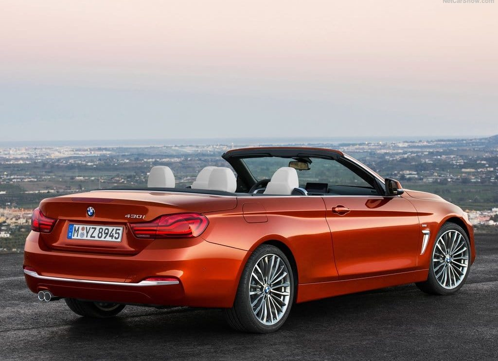 BMW 4 Series Convertible 2019